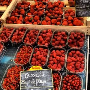 Berries - strawberries raspberries