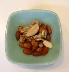 Mixed raw nuts