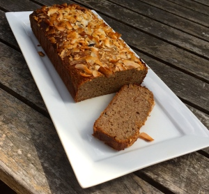 Sprouted gluten free flour and dates sweeten this nutrient packed delicious moist bread.