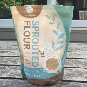 Gluten free buckwheat and almond protein rich flour with omega 3 from chia seeds